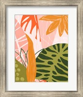 Framed Jungle Collage II