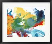 Primary Abstract I Framed Print