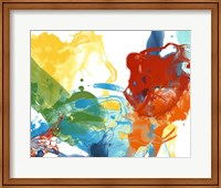 Framed Primary Abstract II