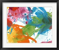 Framed Primary Abstract III