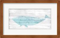 Framed Weathered Whale II