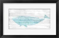 Framed Weathered Whale II