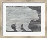 Framed Vintage Plains Animals II