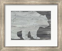 Framed Vintage Plains Animals II