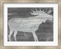 Framed Vintage Plains Animals IV
