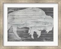 Framed Vintage Plains Animals VI