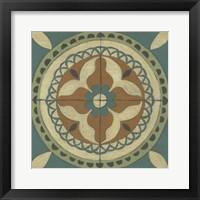 Fraser Tile I Framed Print