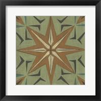 Fraser Tile III Framed Print