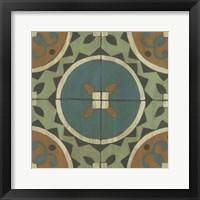 Fraser Tile IV Framed Print