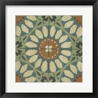 Fraser Tile V Framed Print