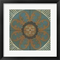 Fraser Tile VII Framed Print