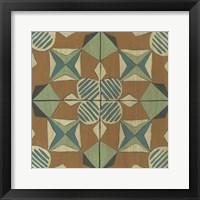 Fraser Tile VIII Framed Print
