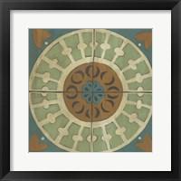 Fraser Tile IX Framed Print