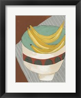 Framed Modern Fruit I
