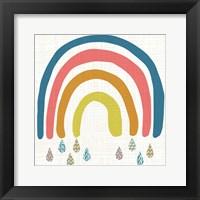 Framed Rainbow Day I