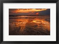 Framed Sunset, Delaware Bay, Cape May NJ