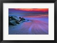 Framed Sunset On Delaware Bay, Cape May NJ