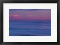 Framed Sunrise On Ocean Shore, Cape May NJ