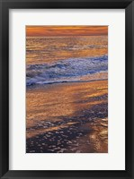 Framed Sunset Reflections, Cape May NJ