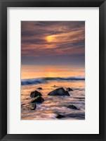 Framed Scenic Cape May Beach, Cape May NJ