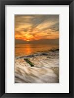 Framed Scenic Cape May Beach 1, Cape May NJ