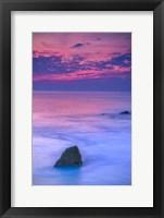 Framed Scenic Cape May Beach 2, Cape May NJ
