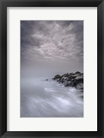 Framed Stormy Beach Landscape, Cape May National Seashore, NJ