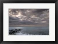 Framed Sunrise On Stormy Beach Landscape, Cape May National Seashore, NJ