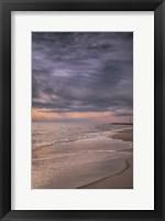 Framed Sunset On Shore, Cape May National Seashore, NJ