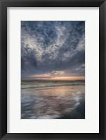 Framed Overcast Sunrise On Shore, Cape May National Seashore, NJ