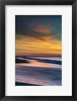 Framed Sunrise On Winter Shoreline 1, Cape May National Seashore, NJ