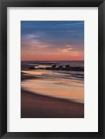 Framed Sunrise On Winter Shoreline 4, Cape May National Seashore, NJ