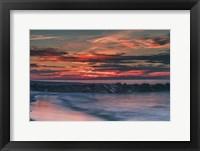 Framed Sunrise On Winter Shoreline 6, Cape May National Seashore, NJ