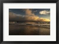 Framed Sunrise On Ocean Shore 2, Cape May National Seashore, NJ