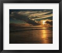 Framed Sunrise On Ocean Shore 4, Cape May National Seashore, NJ