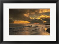 Framed Sunrise On Ocean Shore 5, Cape May National Seashore, NJ
