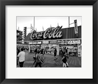 Framed Coca Cola Sign - Boardwalk, Wildwood NJ (BW)