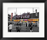 Framed Coca Cola Sign - Boardwalk, Wildwood NJ