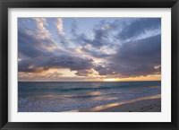 Framed Sunrise, Bavaro Beach,
