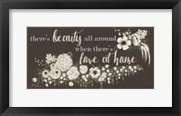 Framed Love At Home