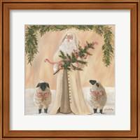 Framed Golden Christmas