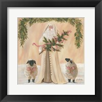 Framed Golden Christmas