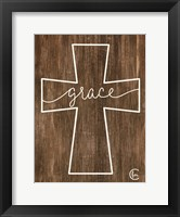 Framed Grace Cross