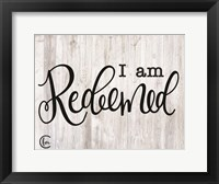 Framed I am Redeemed