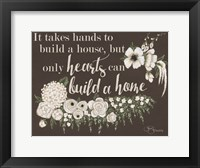 Framed Hearts Can Build a Home