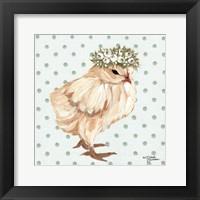Framed Spring Chick