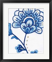 Framed Flora Chinoiserie III