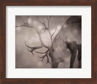 Framed If on a Winters Night Sepia