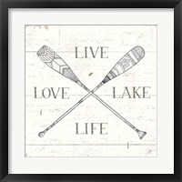 Framed Lake Sketches VI