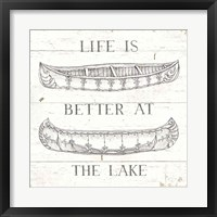 Framed Lake Sketches V